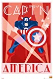 GB eye 61 x 91.5 cm Marvel Retro Captain America Maxi Poster