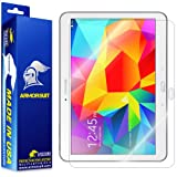 ArmorSuit MilitaryShield - Samsung Galaxy Tab 4 10.1 Screen Protector Anti-Bubble Ultra HD - Extreme Clarity & Touch Responsive with Lifetime Replacements Warranty - Retail Packaging