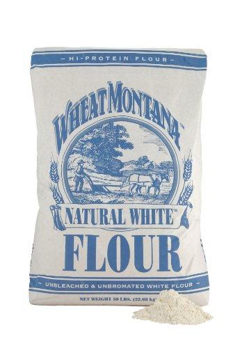 Wheat Montana White Flour, Natural, 50 Pound