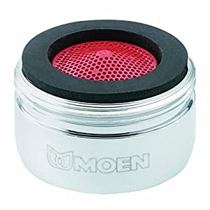 Moen 3919 2 2 GPM Male Thread Aerator Chrome Faucet Aerators And Adapters