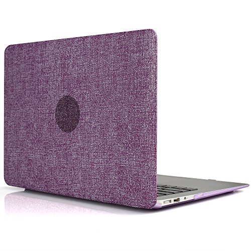 idoo-macbook-schutzhulle-hard-case-fur-macbook-air-13-zoll-in-textil-optik-und-sommerlicher-pastellf