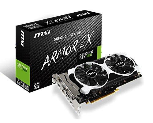 Msi gtx9502GD5T OC Grafikkarte (NVIDIA GeForce gtx9501076MHz 2048MB PCI Express