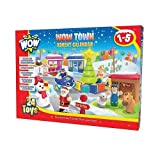 WOW Toys - Calendario de adviento, diseño WOW Town (10420)