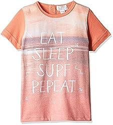 Pumpkin Patch Baby Boys' T-Shirt (S5TB11045_Sunset Orange_2)