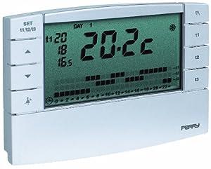 Il meglio di potere termostato ambiente digitale perry gbc for Manuale termostato perry