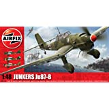 Airfix A05100 Junkers Ju-87B Stuka 1:48 Scale Military Aircraft Series 5 Model Kit by Airfix