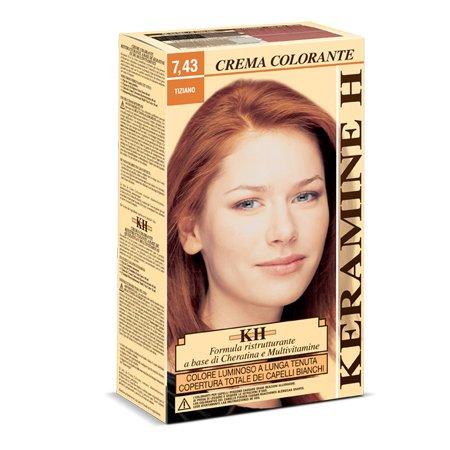 Keramine H Crema Colorante 7,43 Tiziano