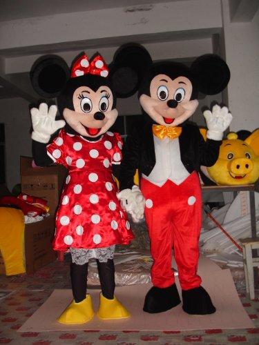 Mickey-Minnie Mascot Costumes