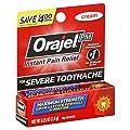 Orajel Maximum Strength Nighttime Toothache Pain Relief Cream - 0.25 Oz