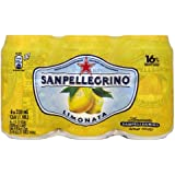 Sanpellegrino Limonata Cans 6 x 33 cl (Pack of 4, Total 24)