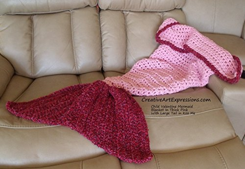 Crocheted Mermaid Blanket Made To Order