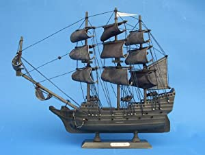 "Flying Dutchman 14"" - Flying Dutchman Model Ship - Model Pirate Boat - Model Pirate"