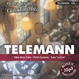 "Telemann [vol. 1]: Table Music Suite, Polish Concetro, & Suite """"La Lira"""""