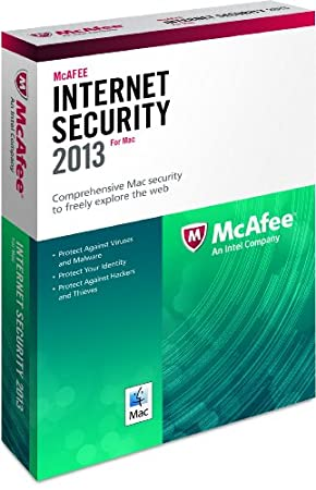 McAfee Protection For Mac 1PC 2013