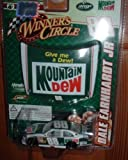 Dale Earnhardt Jr #88 Mountain Dew Old School New School Retro Give Me A Dew Chevy Impala SS COT 1/64 Scale & 1/24 Scale Magnet Hood Winners Circle