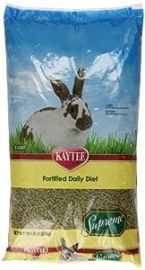 Kaytee Supreme Food for Rabbit, 10-Pound