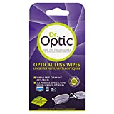 Dr Optic Lens Wipes - 12 individual wipes