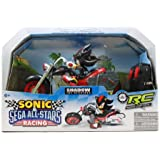 Nkok Sonic And Sega All-Stars Racing Remote Controlled Car: Shadow The Hedgehog With Working Light Jouets, Jeux, Enfant, Peu, Nourrisson
