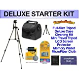 DELUXE Starter Package for the JVC GZ-HM960B, GZ-E10, GZ-E200, GZ-EX210, GZ-EX250, GZ-EX310 Everio HD camcorders. Includes Everything You Need To Get Started!