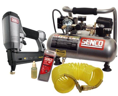 Senco Pc0946/Fp15Kit Finishpro 15 5/8-Inch, 1-1/4-Inch 18-Gauge Brad Nailer/Compressor Kit