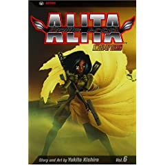 Battle Angel Alita, Vol. 6: Angel of Death by Yukito Kishiro