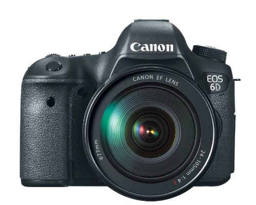 Canon EOS 6D 20.1 MP CMOS Digital SLR Camera with 3.0-Inch LCD and EF24-105mm IS Lens Kit