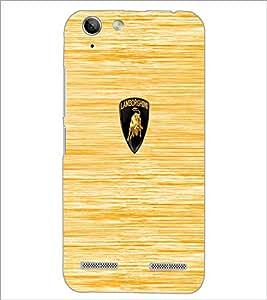 PrintDhaba Logo D-5530 Back Case Cover for LENOVO LEMON 3 (Multi-Coloured)