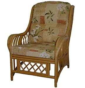 Replacement Cane Chair Cushions Only Wicker Rattan Conservatory Furniture by Gilda® (Harrogate Autumn) from Gilda Ltd