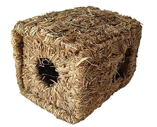 Insun-Pet-Grass-Nests-House-for-Rabbit-Guinea-Pig-Totoro