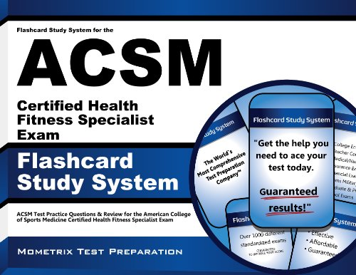 Flashcard Study System for the ACSM Certified Health ...