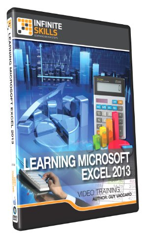 InfiniteSkills: Learning Microsoft Excel 2013 - Training DVD (PC/Mac)