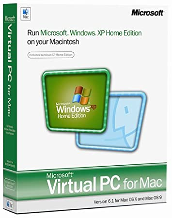 Microsoft Virtual PC for Mac 6.1 with Window XP Home [Old Version]