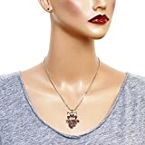 DianaL-Boutique-Adorable-Crystal-Pig-Piggy-Piglet-Charm-Pendant-Necklace-Pink-Rose-Crystals-18-2-ext-Chain