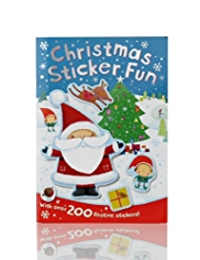 Christmas Sticker Fun Book