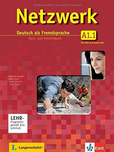 Netzwerk A1 in Teilbänden - Kurs- und Arbeitsbuch, Teil 1 mit 2 Audio-CDs und DVD : Deutsch als Fremdsprache en ligne