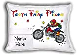 Tooth Fairy Pillow (self-contained pillow) - Dirt Bike