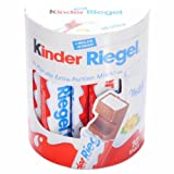 German Kinder Riegel Chocolate Bars - 1 x 10 pieces