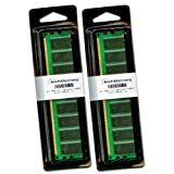 2GB Memory RAM Kit (2 x 1 GB) for Dell Dimension 2400 Pentium 4 3.06GHz by Arch Memory