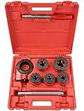 TEKTON 7574 Ratchet Pipe Threader Kit, 9-Piece
