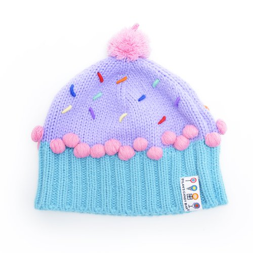 Dylan's Candy Berry Blue Cupcake Hat