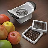 Planet Homeware Apple Cutter - 3 Changeable Blades - Apple Corer, Divider, Slicer & Wedger - Featuring Easy Grip Handles and Powerful Stainless Steel Blades - Large & Dishwasher Safe - Guarantee