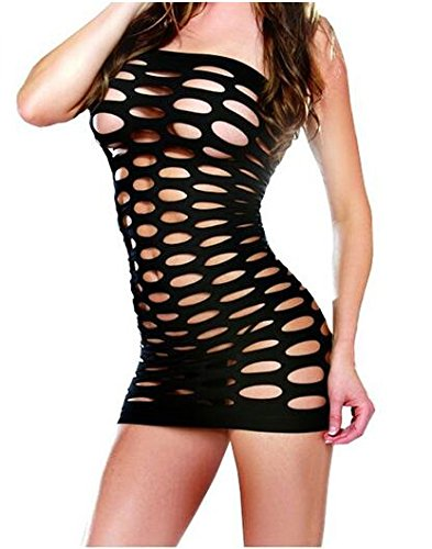leehom Sexy Frauen French Maid Outfit Fancy Hohl Kleid Fest Cosplay Kostüme Dessous Medium, rot, Christmas style jetzt bestellen