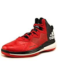 New Adidas Men's Intimidate Basketball Shoes Red/white/black