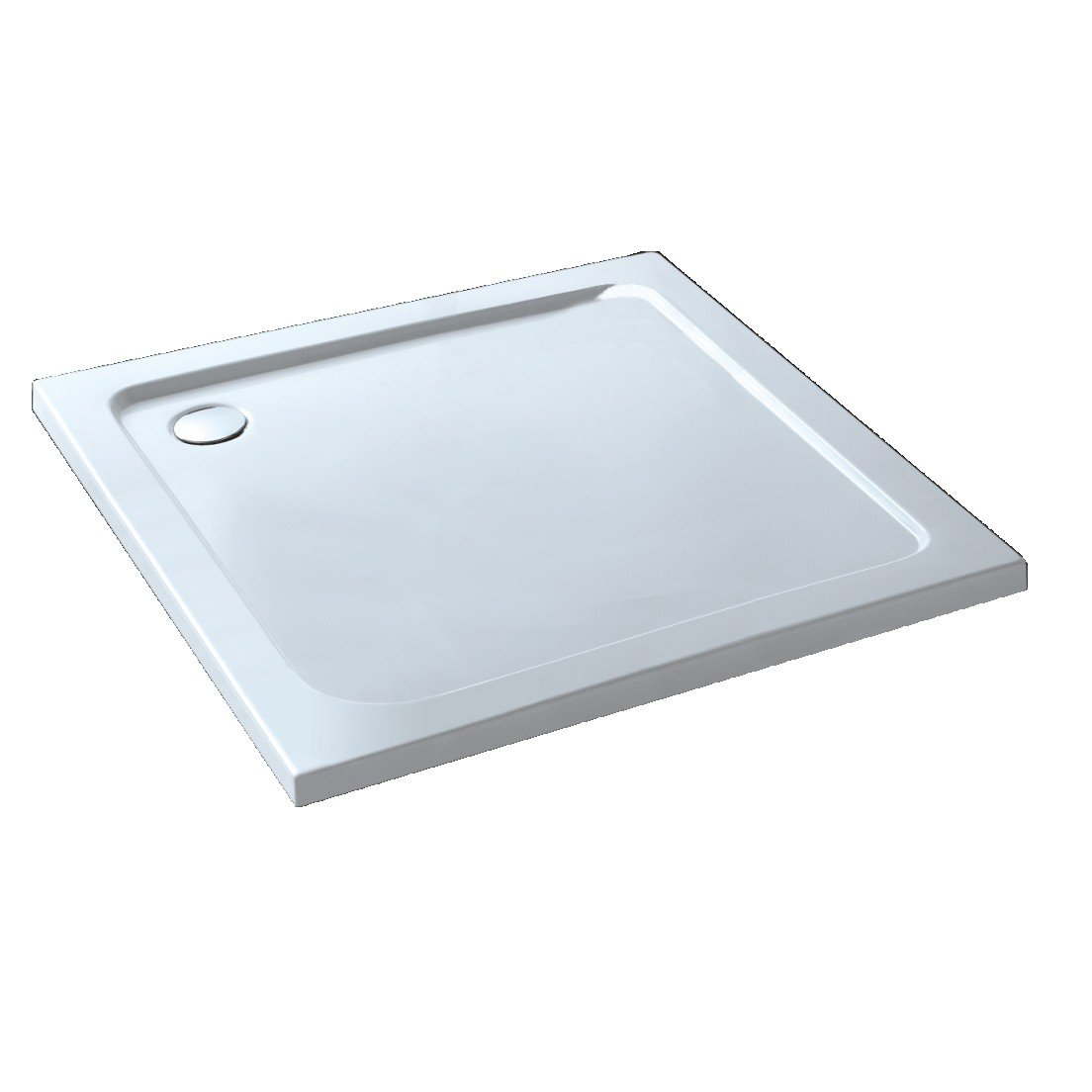 Square 900x900mm Stone Shower Enclosure Tray  iBath       Customer review and more information