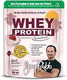 Whey Protein Strawberry 24 oz Pwdr