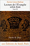 img - for Lecture de l' vangile selon Jean book / textbook / text book