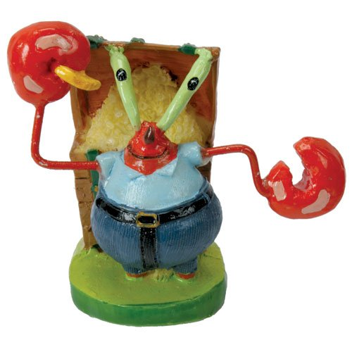 Penn Plax Mr. Krabs Resin Ornament