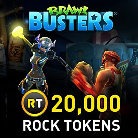 20,000 Rock Tokens: Brawl Busters [Game Connect]