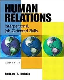 human relations interpersonal job-oriented skill pdf