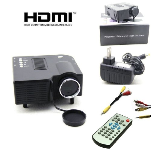 New UC28 PRO HDMI Mini HD Home LED Projector